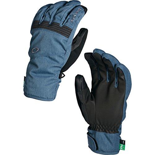 - Oakley Men's Roundhouse Short Gloves, X-Large, Blue Shade