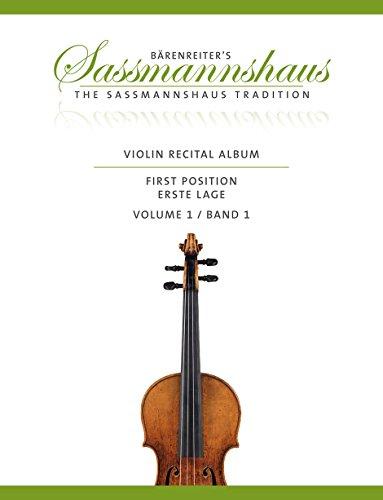 Violin Recital Album, Volume 1 (Album Recital)