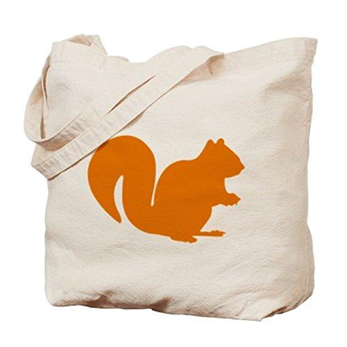 CafePress–Scoiattolo–Borsa di tela naturale, panno borsa per la spesa