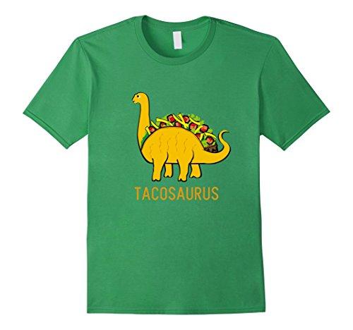 [Men's Tacosaurus Cinco de Mayo Shirt Women Men Kids Funny Taco 2XL Grass] (Pun Costumes For Guys)