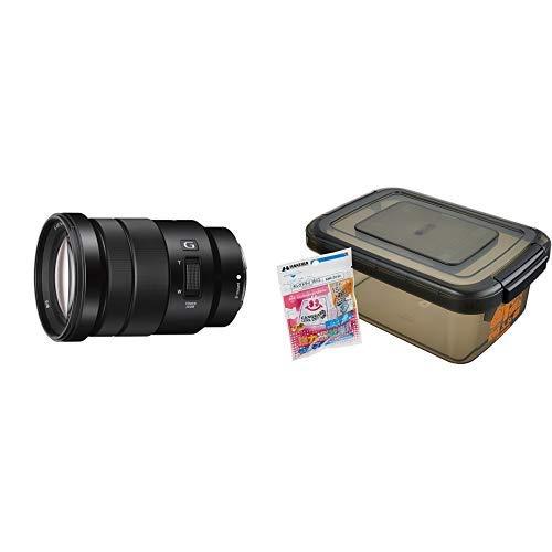 SONY E PZ 18-105mm F4 G OSS※Eマウント用レンズ(APS-Cサイズ用) SELP18105G+HAKUBA ドライボックスNEO 5.5L スモーク 防湿庫 KMC-39   B07L67X992