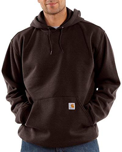 Carhartt Men's Big & Tall Midweight  Hooded Sweatshirt,Dark for sale  Delivered anywhere in USA