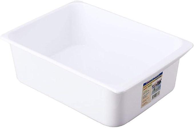 RUIXIANG - Caja de almacenamiento de plástico para guardar alimentos, huevos de cocina, tarro de platos, botes de botellas de juguete para el hogar y aperitivos, Large: Amazon.es: Hogar