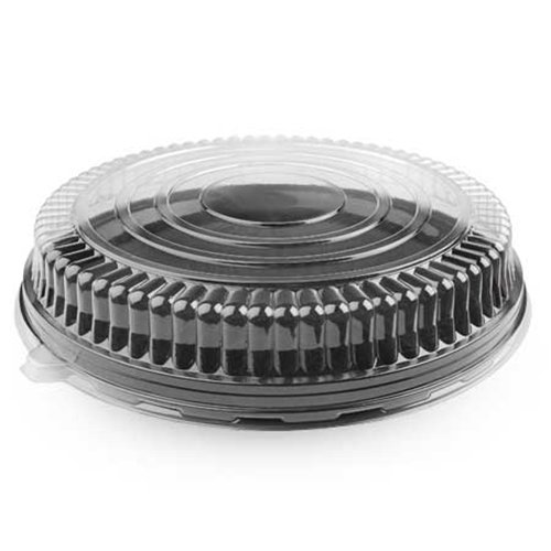 (Clear PET Low Dome Lid for 18 Inch Round Trays 25 CT)