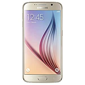 Samsung Galaxy S6 G920I Factory Unlocked Cellphone, 32GB, Platinum Gold