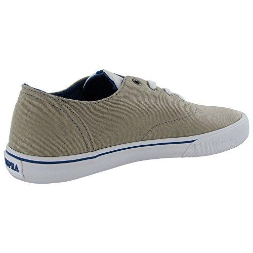 Supra zapatillas norteño para hombre, multicolor - - Cobblestone/Dark Blue/Wht