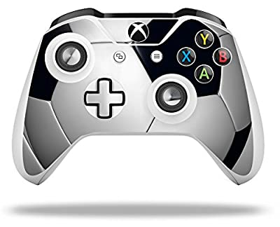 Soccer Ball - Decal Style Skin fits Microsoft XBOX One S Wireless Controller