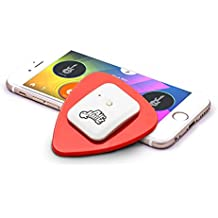 AirJamz App-Enabled Bluetooth Music Toy, Electric Air Guitar and more for your iOS or Android Mobile Phone or Tablet, Red, Powered by Zivix (Certified Refurbished)
