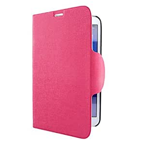 TOPQQ ships in 48 hours Stripe Pattern Full Body Case with Card Slot for Samsung T310 (Assorted Colors) , Pink