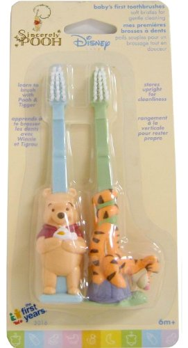 (Disney Winnie the Pooh Baby's First Toothbrushes)