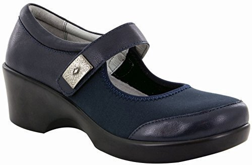 Alegria Womens Maya Wedge Pump, Slate, Size 38 EU (8-8.5 M US Women)