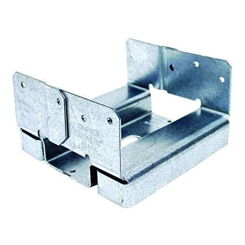 Simpson Strong Tie ABA66Z ZMAX Galvanized 14-Gauge 6x6 Adjustable Post Base 10-per box