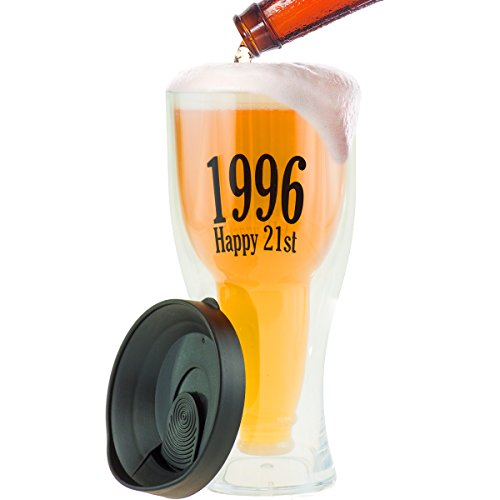 1996-21st-birthday-beer-tumbler-shatter-proof-insulated-glass