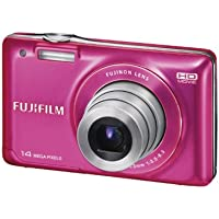 Fujifilm FinePix JX500 Digital Camera (Pink)