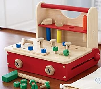 Amazon Com Pottery Barn Kids Wooden Work Bench Baby Products Baby