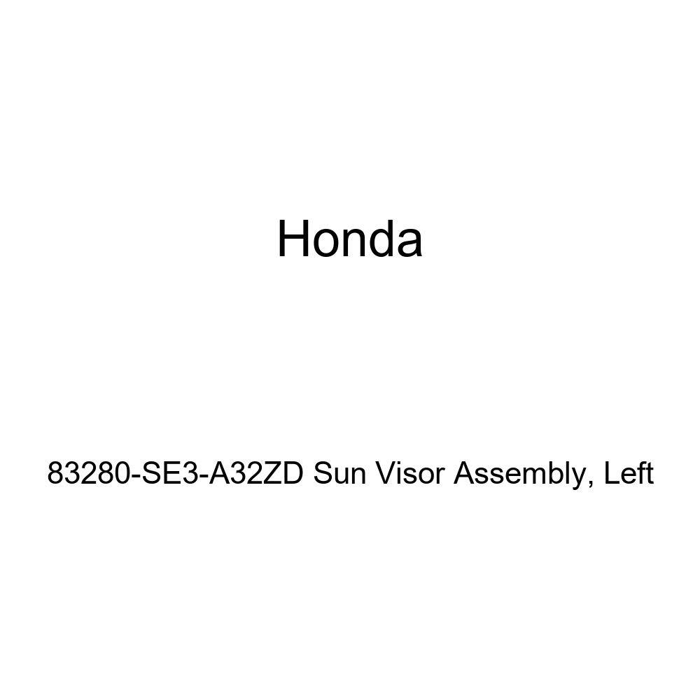 Honda Genuine 83280-SE3-A32ZD Sun Visor Assembly Left