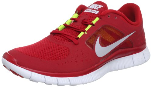e8870d425fa NIKE Free Run 3 Gym Red Barefoot Mens Running Shoes 510642-600  US size 8   (B005OBFD4S)