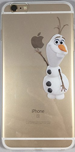 Favorite Character Cases iPhone 6 Plus and 6s Plus From Your Favorite Shows and Movies! Clear Flexible Silicone (Olaf)