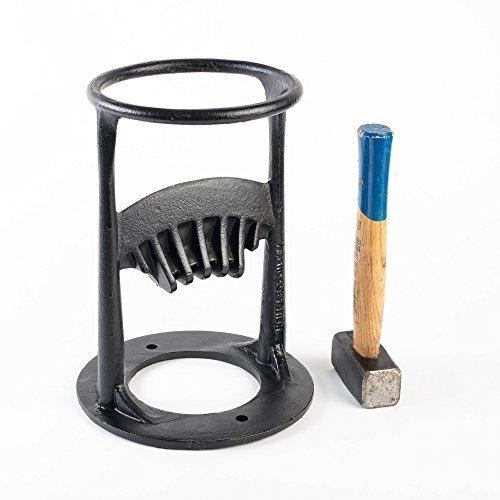 Manual de leña y leña divisor de madera–manera fácil y segura a Split troncos de hierro fundido para estufa,...