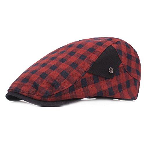 Escoceses Gorra Gorra Sombrero WY de Sol Gorra Sombrero Sombrero scarf de Hop de Hip de 5 Cuadros adelante de Sombrero la Gorra de de de Gorra Escuela de Deportes IwK6Uq6t