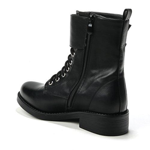 HERIXO Women's Boots Black vkasSxX