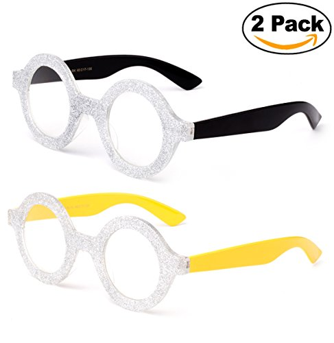 Cute Minion Costumes (Kyra Costume Glitter Minion Despicable Me Glasses)