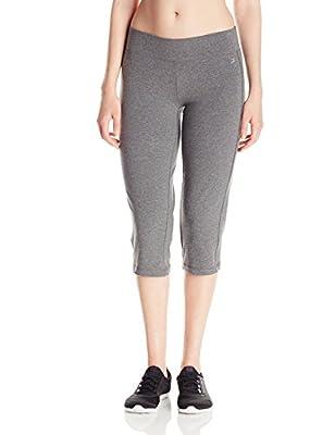 Danskin Women's Sleek Fit Yoga Crop Pant