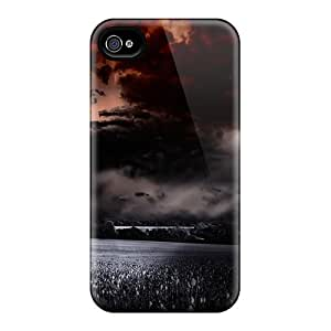 Tpu Shockproof/dirt-proof Violent Storm Cover Case For Iphone(4/4s)