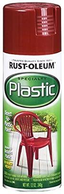 Rust-Oleum Paint For Plastic Spray, 12-Ounce