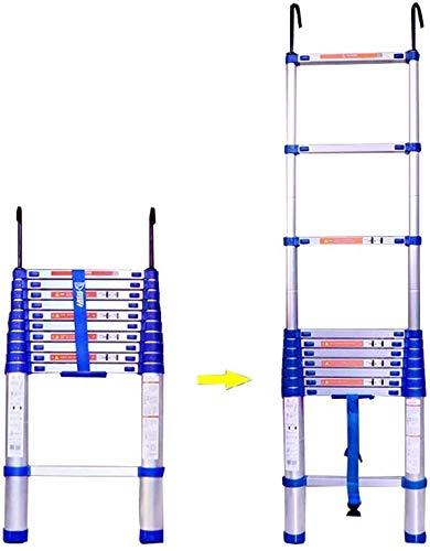 はしご アルミ台 伸縮はしご 延長梯子、引き込み式のミニタイプ便利なアルミ合金の建設プロジェクトの世帯の頑丈なまっすぐな梯子(4.15m / 163.3inch、4.45m / 175inch、4.85m / 191inch) はしご アルミ台 伸縮はしご (Size : 4.85m/191inch)