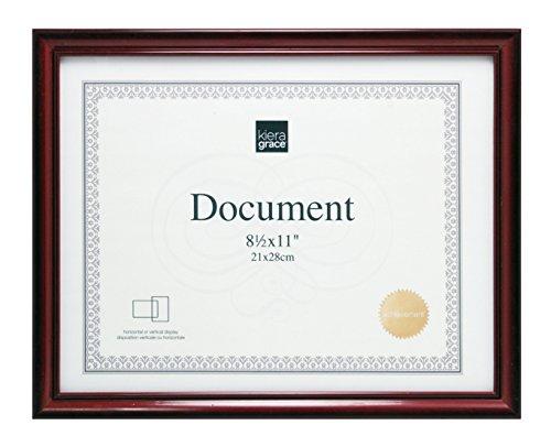 Amazoncom Kieragrace Kiera Grace Harper Document Frame 85 X 11
