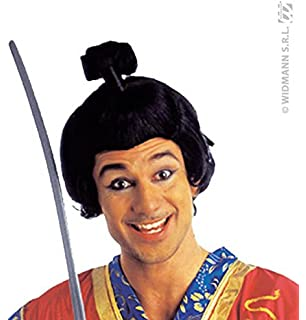 WIDMANN Short Samurai wig for men (peluca)