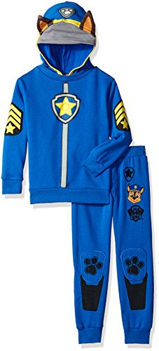 [Nickelodeon Toddler Boys' 2 Piece Chase Paw Patrol Costume Hoodie and Pant Set, Blue, 4T] (Paw Patrol Chase Toddler Costumes)