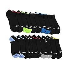 "Slazeneger Boys' ""High Jump"" 10-Pack Low-Cut Socks"