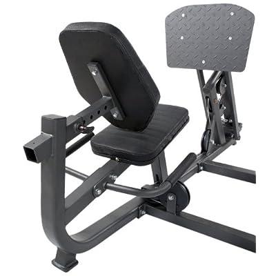 FINNLO Presse à jambes pour Autark 2200 Anthracite/Noir