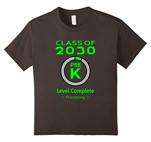 Kids Kids Funny Pre-K Graduation Video Game T-Shirt 12 (Pre K Graduation)