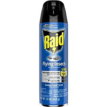 Raid Flying Insect Killer Spray 15 oz ( Pack of 2)