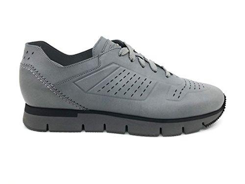 SANTONI MBHY20666NEPCMURG50 Sneaker Uomo MainApps Grey