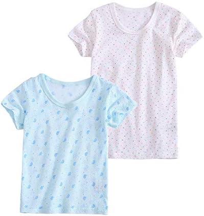 インナー 女の子 2枚組 Tシャツ 肌着 男の子 綿 半袖 インナーシャツ 無地 女児 男児 下着 ベビー 通気 幼児 キッズ シャツ 保育園 小学生 シンプル 可愛い