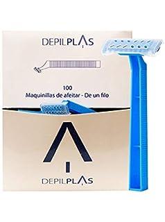 25 Afeitadora azul doble filo Medi-Inn Afeitadora desechable ...
