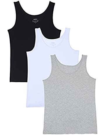 4b3a85727 Vislivin Womens Supersoft Camisole Stretch Casual Tank Tops