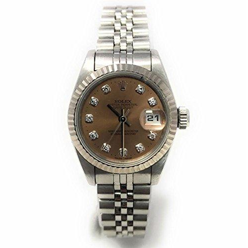 Rolex Datejust swiss-automatic womens Watch 69174 (Certified (Rolex Pink Watch)