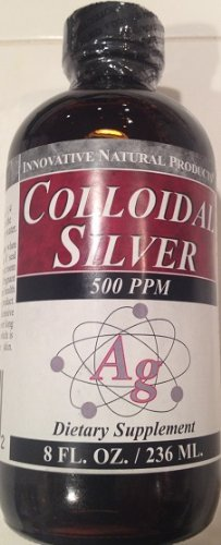 Colloidal Silver High Potency 500 ppm 8 Ounces