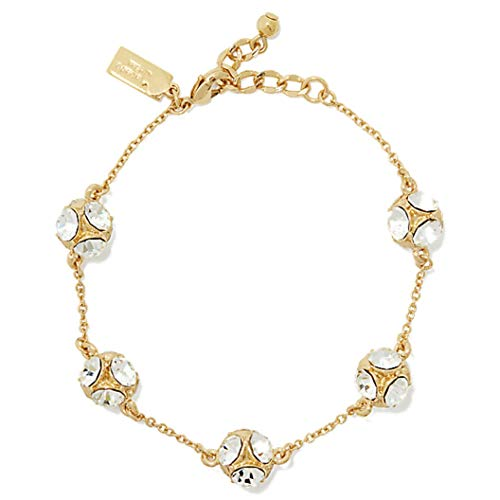 Kate Spade New York Lady Marmalade Bracelet, Clear / Gold (Marmalade Garden)