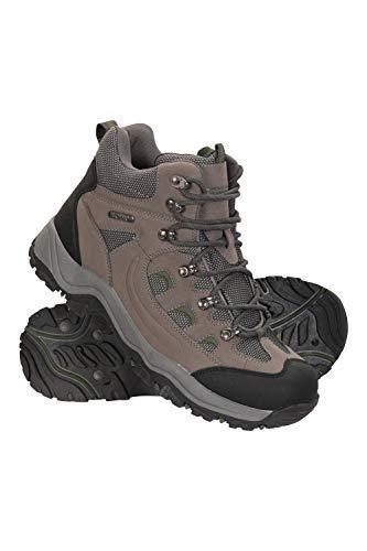 Mountain Warehouse Boots Hommes Adventurer - Chaussures imperméables, Textile & synthétique, adhérence supplémentaire… 1