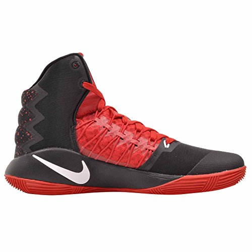 Nike Mens Hyperdunk 2016 SE, Black / White - University Red Black / White - University Red