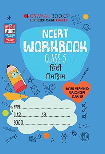 Oswaal NCERT Workbook Hindi Class 5 (For 2022 Exam)