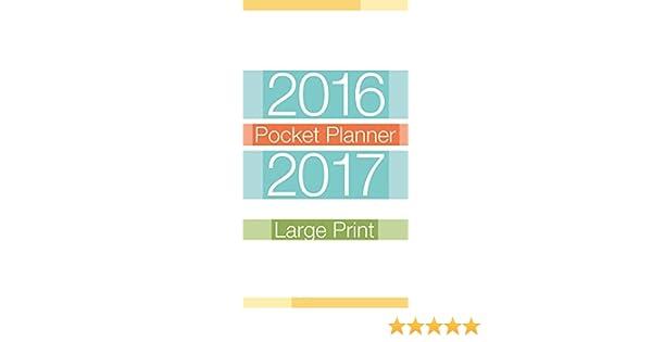 large prints 2016 pocket planner trends international