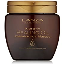 L'ANZA Keratin Healing Oil Intensive Hair Masque, 7.1 Oz