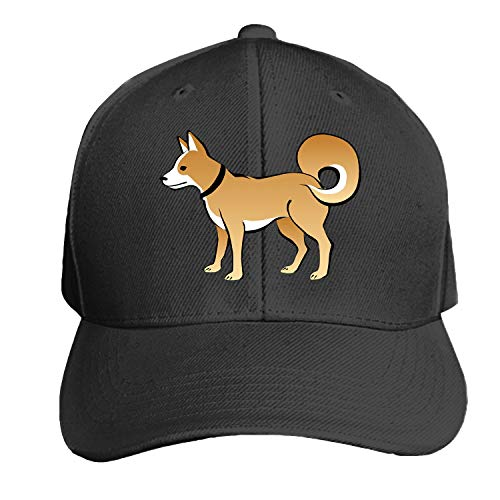 (Peaked hat Dog Brown Tail Eskimo Collar Curly Adjustable Sandwich Baseball Cap Cotton Snapback)